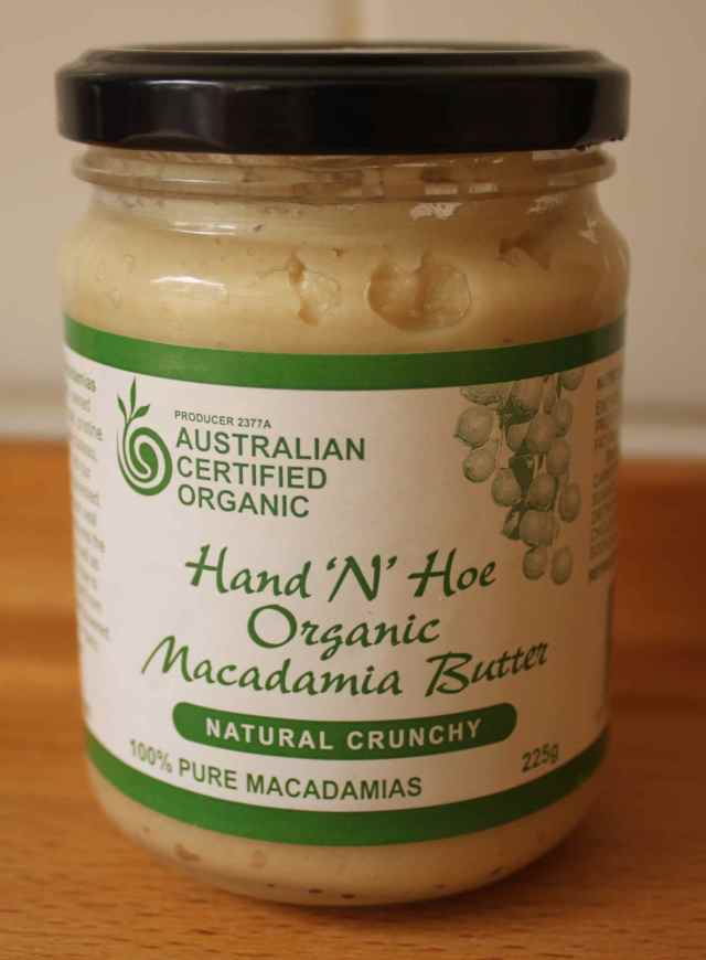 Hand 'N' Hoe Macadamia butter