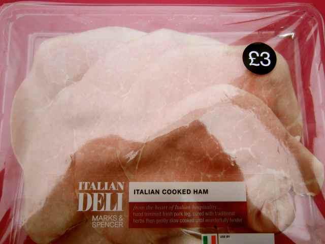 Italian cooked ham