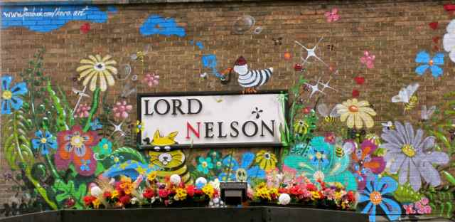 Lord Nelson mural