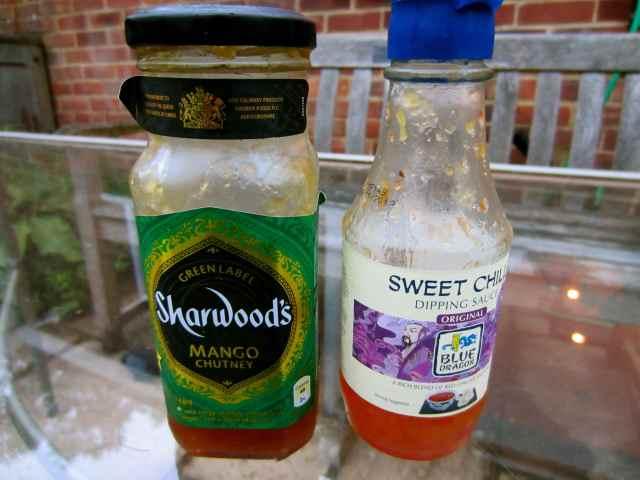 mango chutney and sweet chili