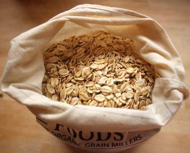 oats in sack