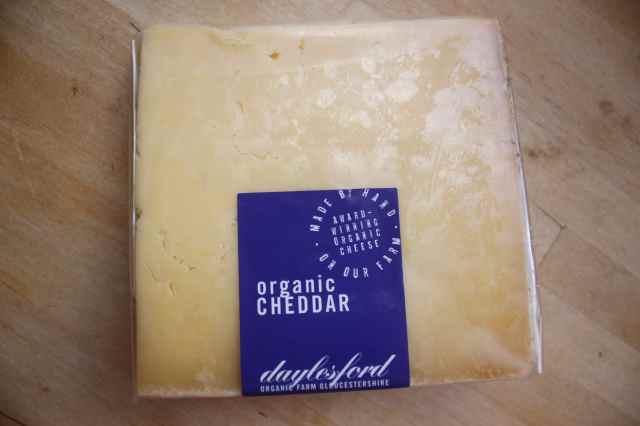 Organic Cheddar Daylesfors