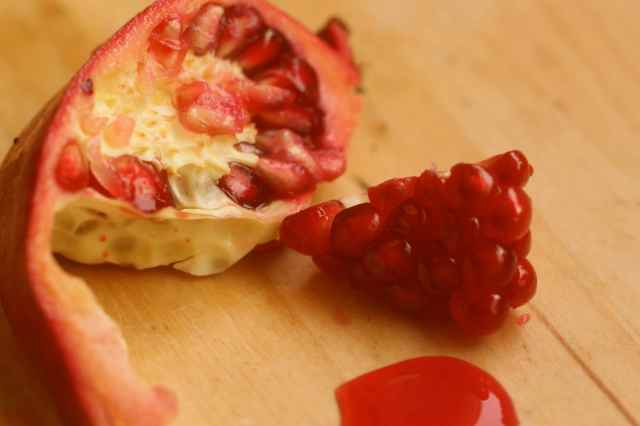 pomegranate berries 2