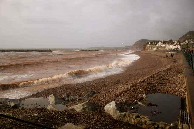 Sidmouth Beach 20-10-13