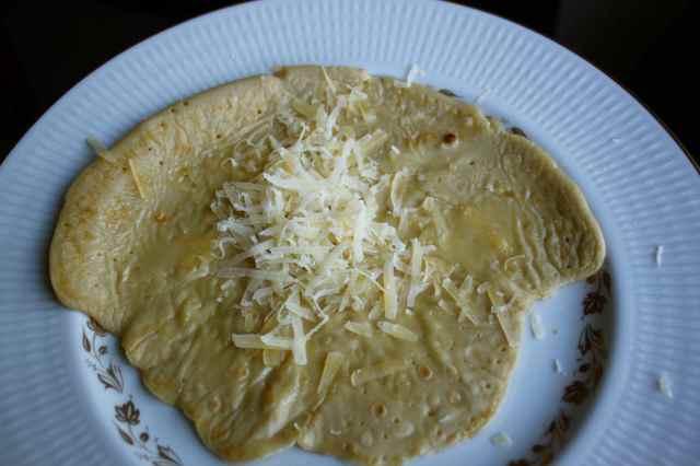 spelt and soya pancakes