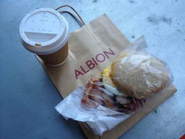 Albion breakfast bap 2