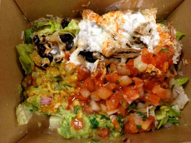 another naked burrito