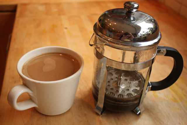 coffee and cafetiere