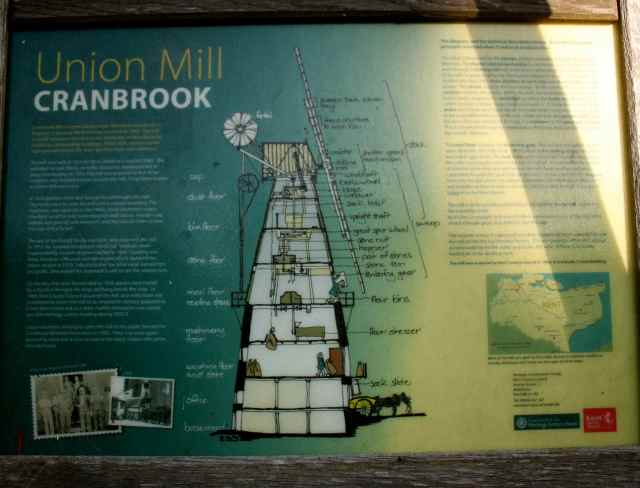 Cranbrook windmill sign