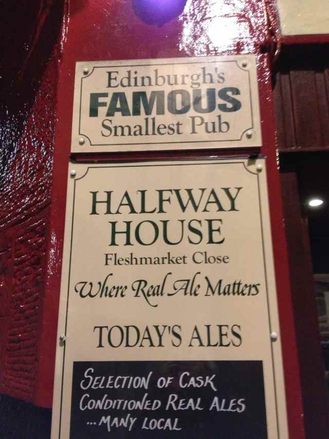 Edinburgh's smallest pub