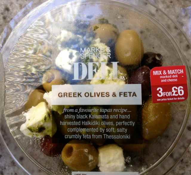 Greek olives and Geta