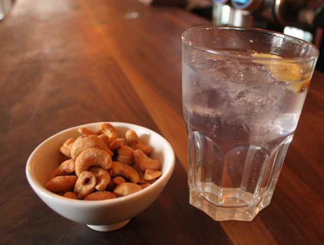 G&T and cashews
