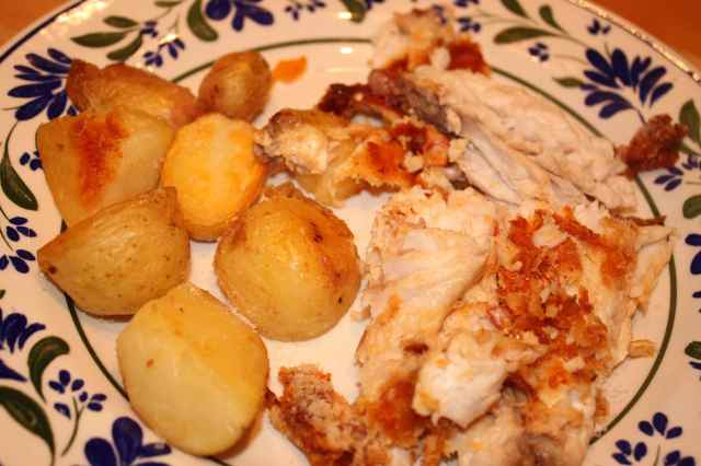 Red Snapper and potato