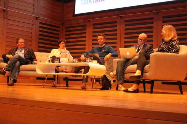 Richard Bacon and panel