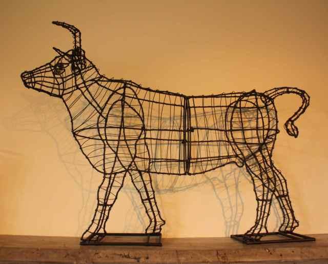 the bull in Milk House
