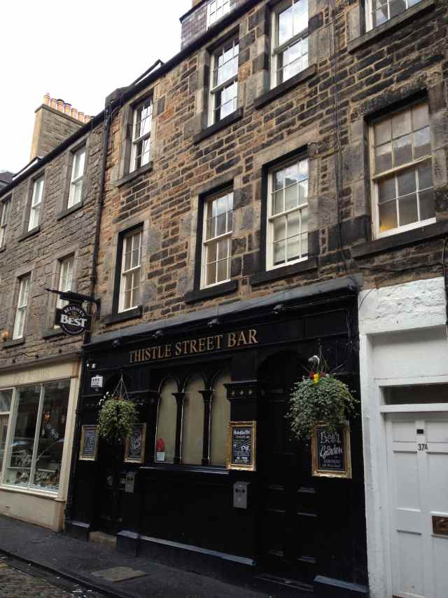 Thistle Street Bar