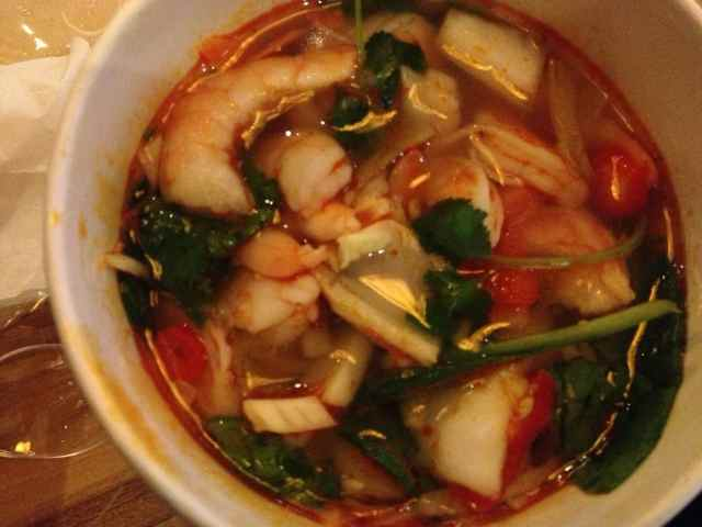 Tom Yum at EAT