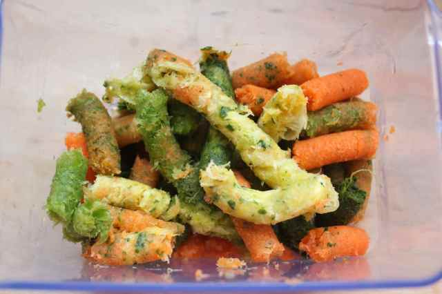 vegetable sausages