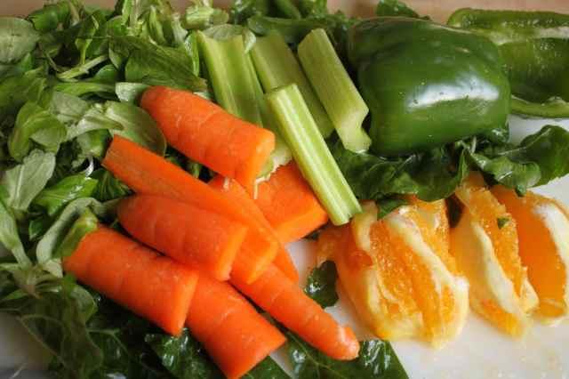 veggies for juicing