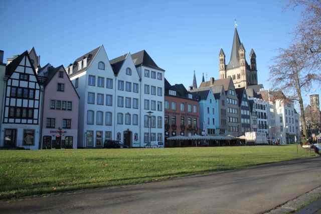 along Rhine