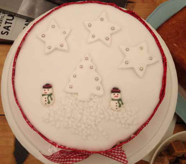 Christmas Cake Sharpers