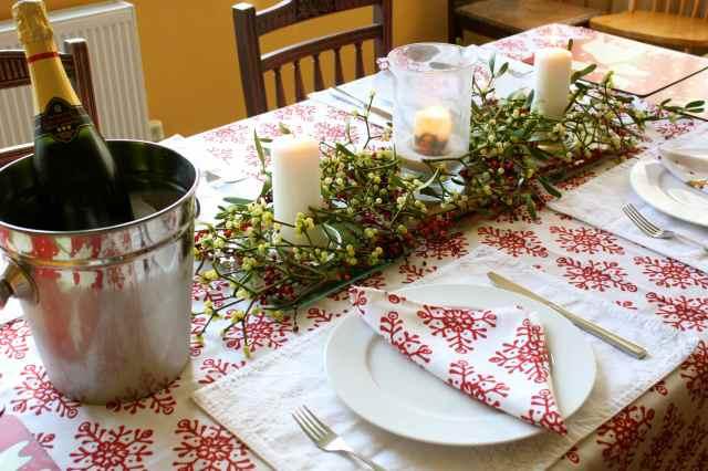 Christmas Day table 2