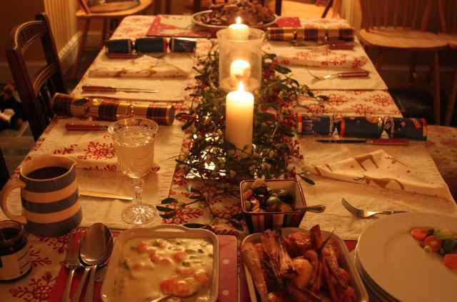 Christmas dinner 2013 2