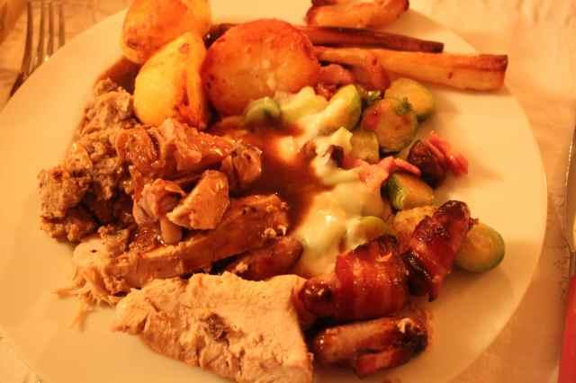 Christmas dinner 25-12-13