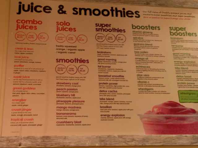 Crusshh juice and smoothies