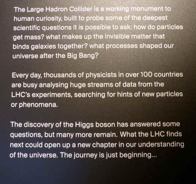 Hadron Collider writing