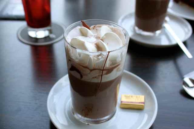 hot chocolate in choc museaum