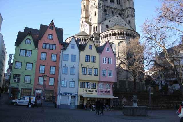Koln old town