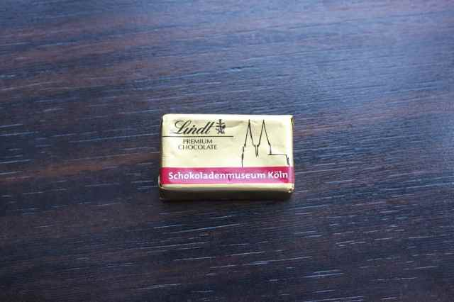 little Lindt chocolate