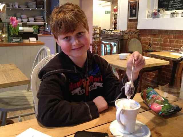 Proper hot chocolate