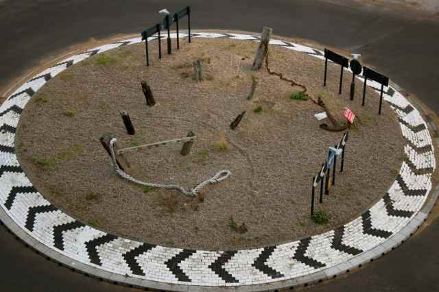 Rasgate seascape roundabout