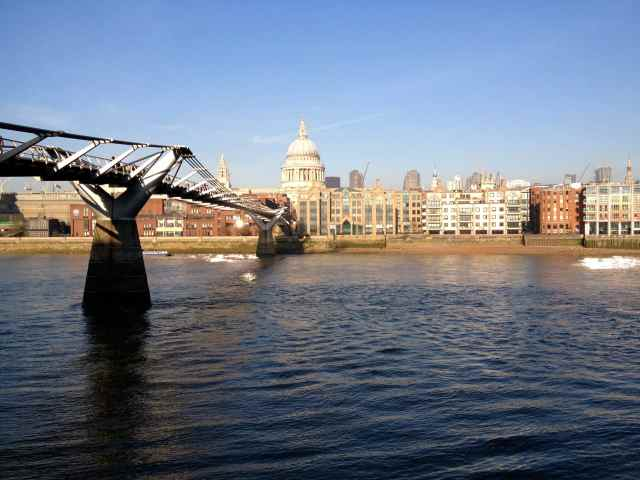 River Thames to St.Paul's