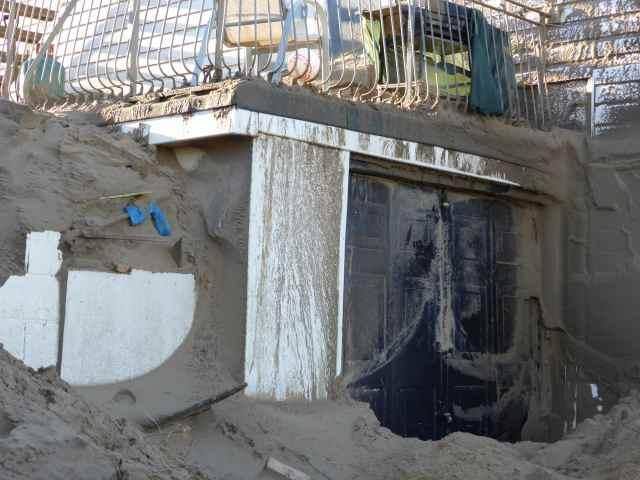 Sand garage Camber