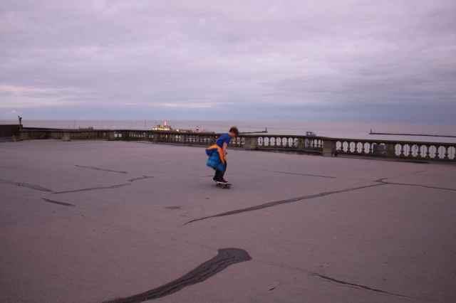 Skateboarding in Ramsgate