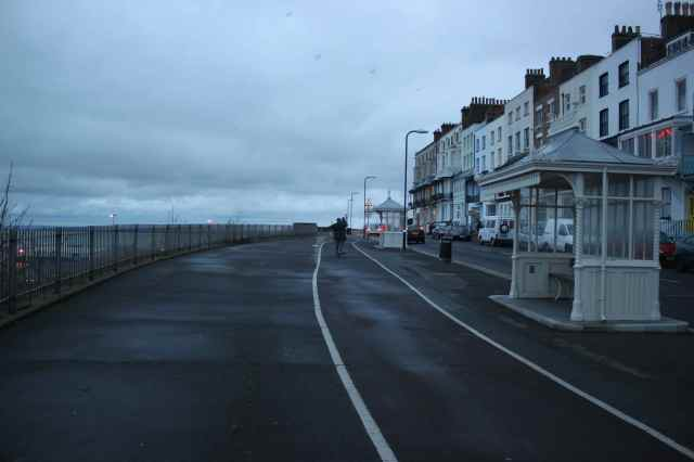 walking and boarding Ramsgate