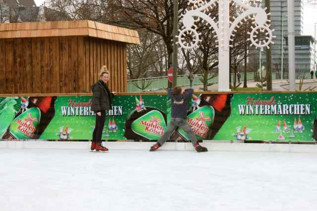 wobbly on skates