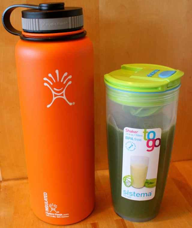 2 juice jars