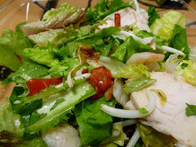 chicken and prawn salad 2