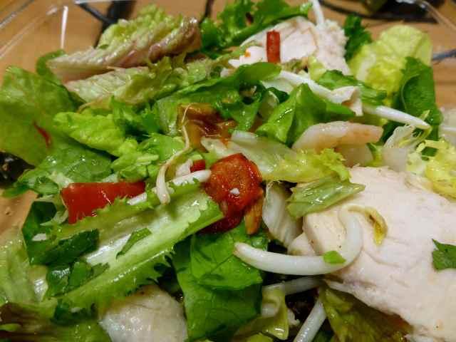 chicken and prawn salad 2