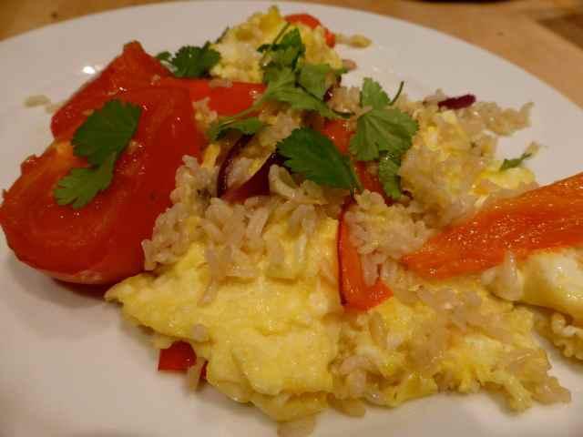 egg and veggies