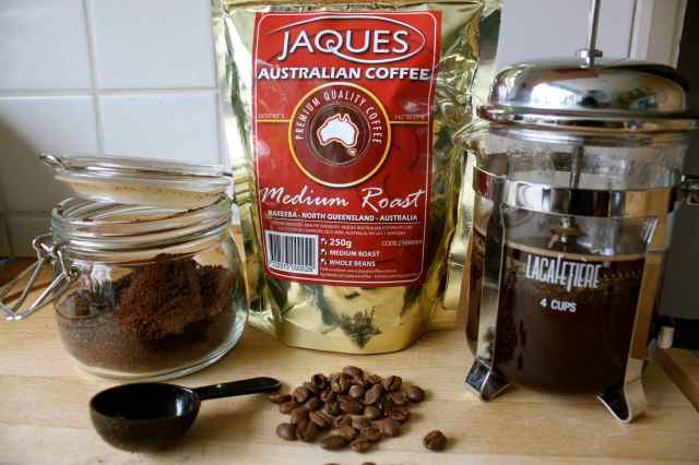 Jacques coffee grounds