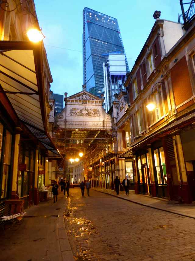Leadenhall Market and cheese grater
