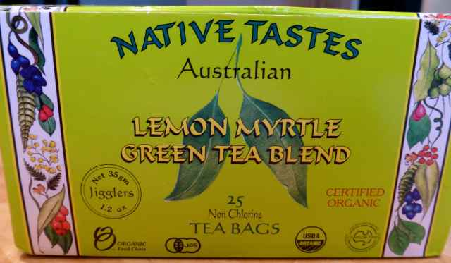 lemon myrtle green tea