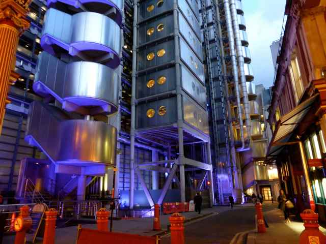 Lloyds of London Insurance building