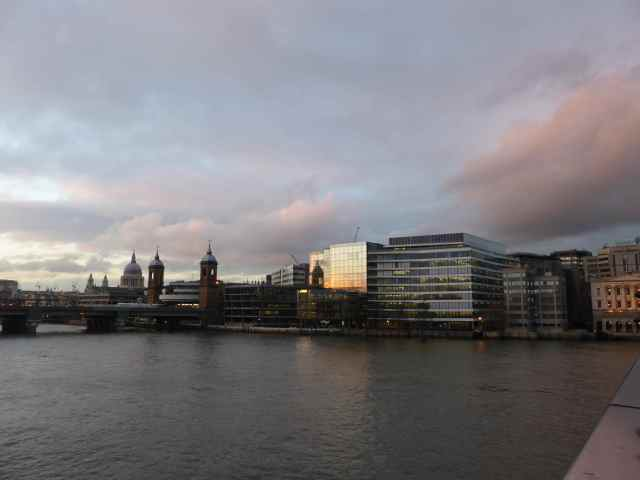 Looking North from London Bridge