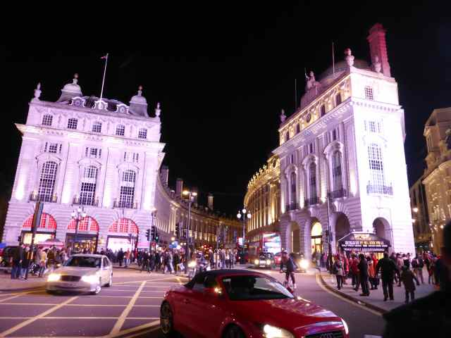 looking up Regent St